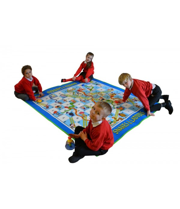 Giant Snakes & Ladders Dice Game