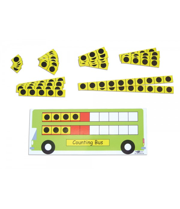 COUNTING BUS - DOUBLE DECKER (SET OF 6)