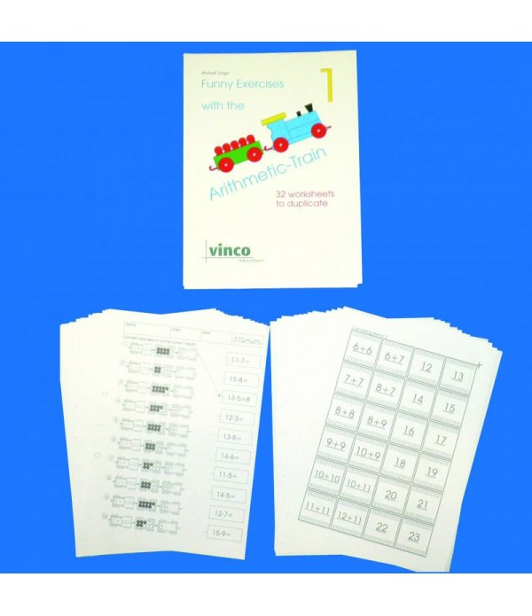 Counting Train Activity Pack