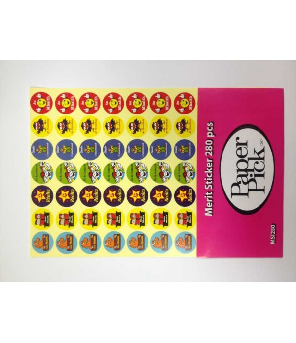 A4 Merit Stickers Irish Pk280