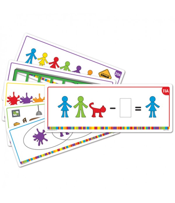 All About My Family Counters Activity Cards