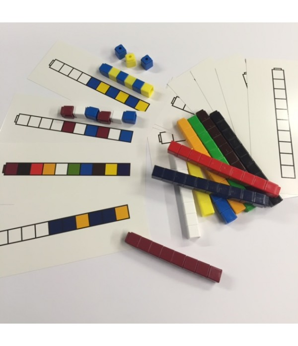 Counting Cubes Sequencing Cards