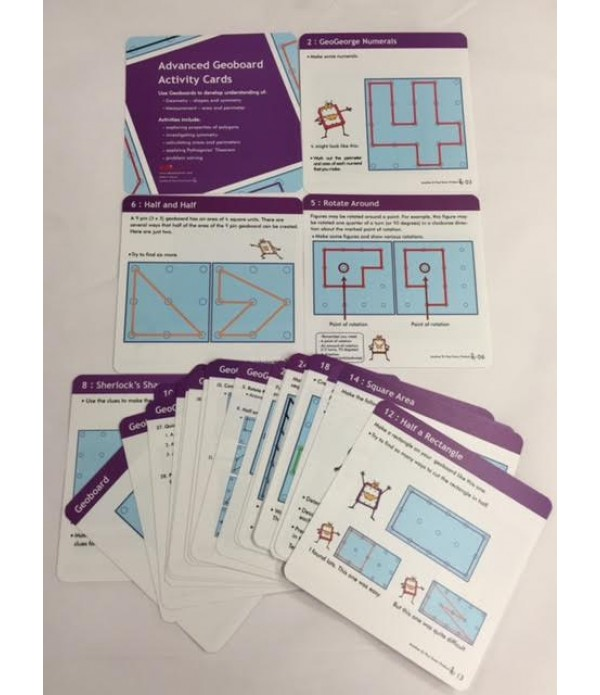 Geo Boards Activity Cards