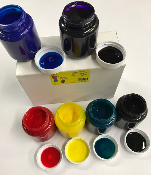 Glass Paint Set of 6