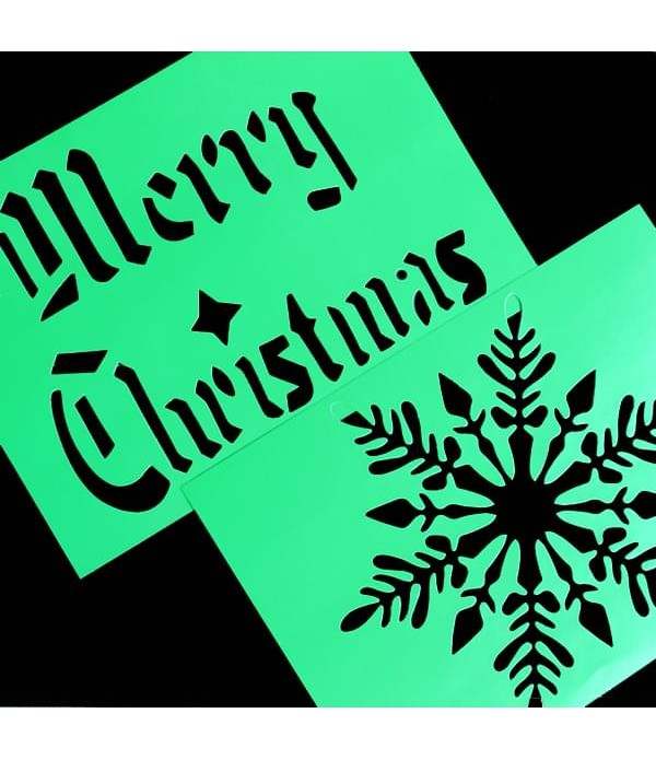 Christmas Stencils Large