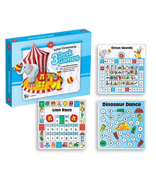 3 Desk Game: Initial Consonant