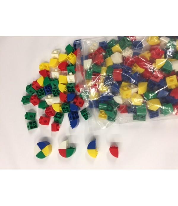 Linking Cubes Quarter Circle Blocks