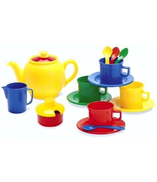 Tea Set In Net