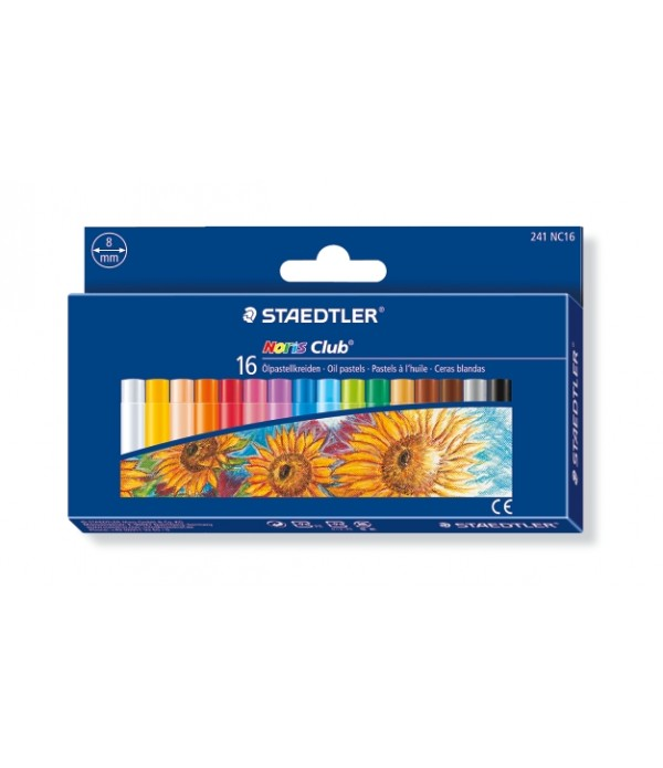 Oil Pastels Box Of 16