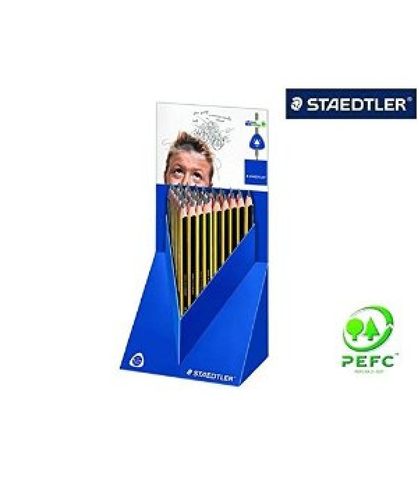 Staedtler Triangular Pencil Box Of 48