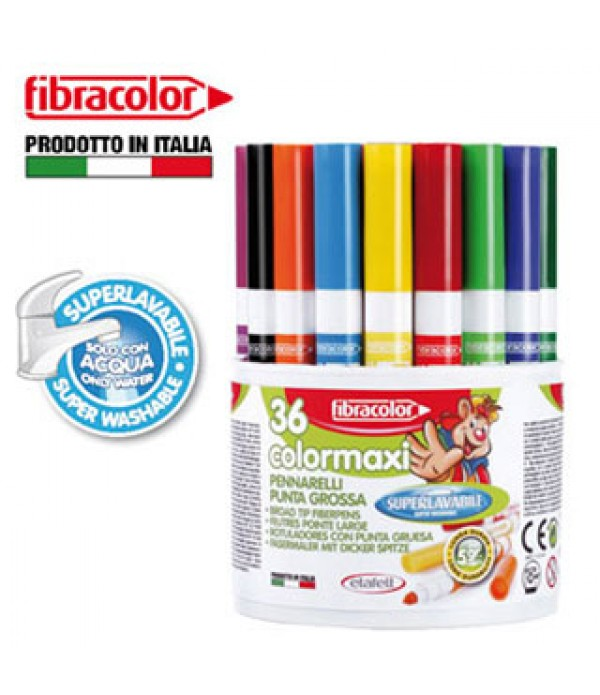 ColorMaxi Coloring Markers Tub of 36