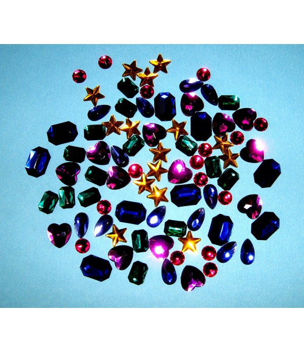 Gem Stones Bag of 100
