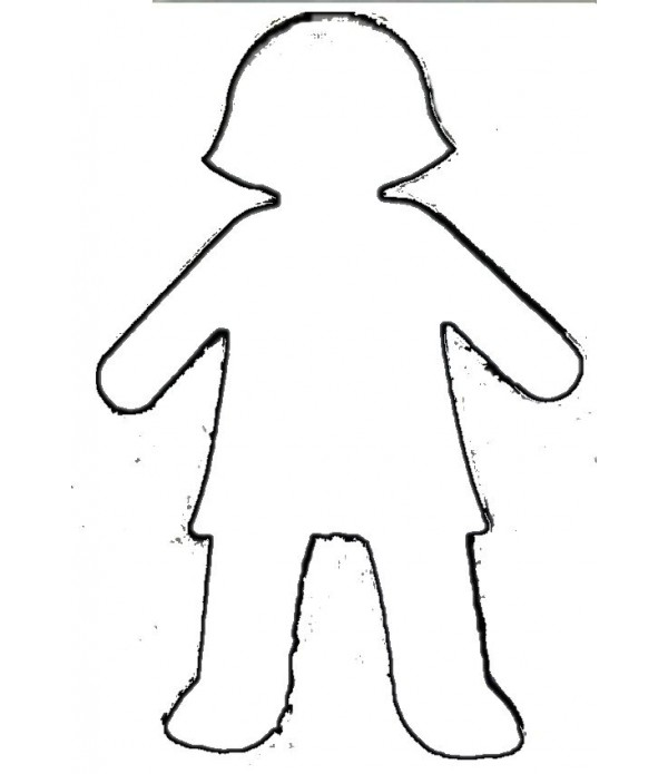 Girl Cut Outs Pack of 10
