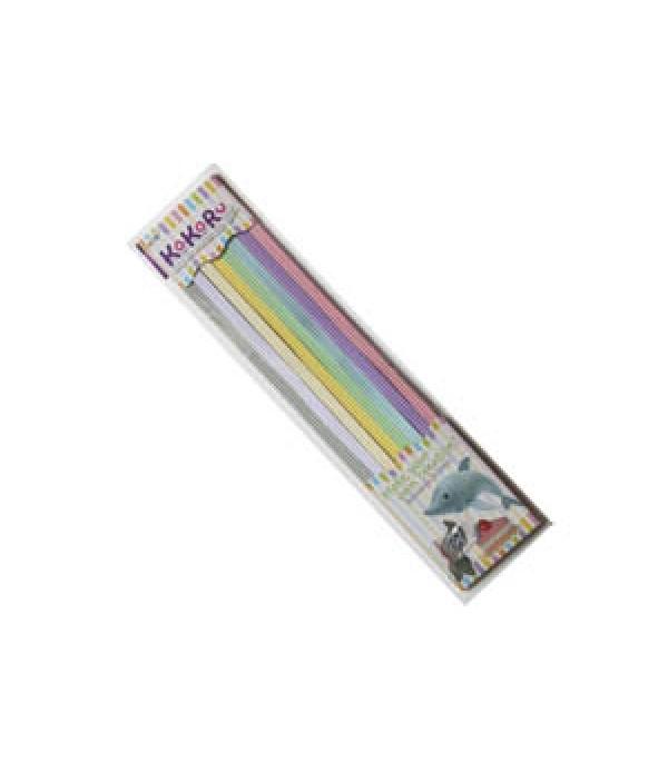 Kokoru Corrugated Strips Pastel