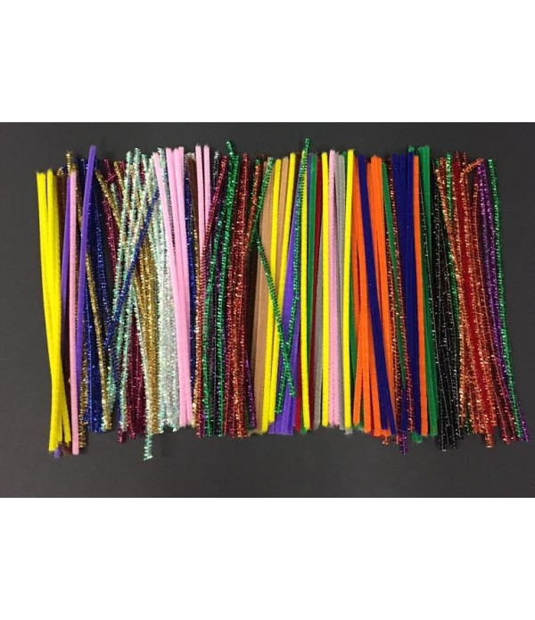 Pipe Cleaners Bumper Pack Assorted 200`s