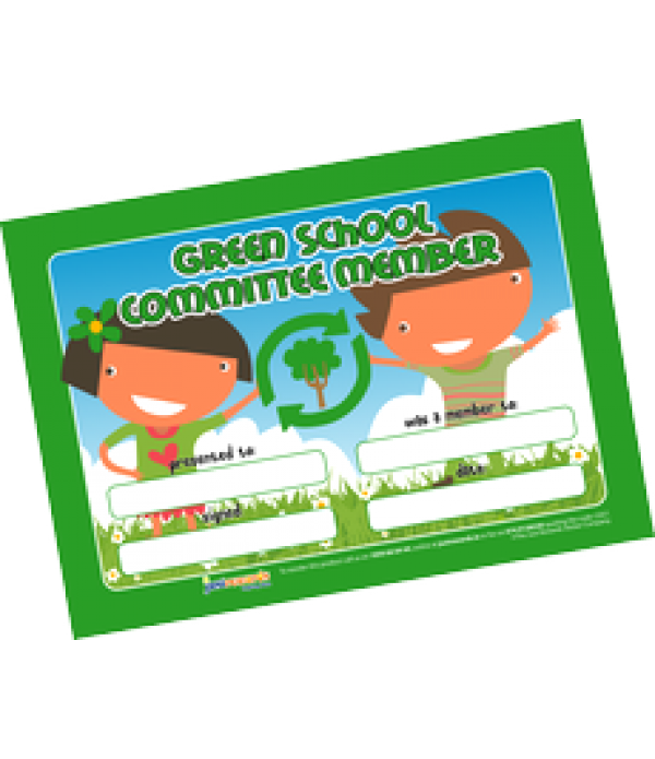 Award Certs Green Schools Committee