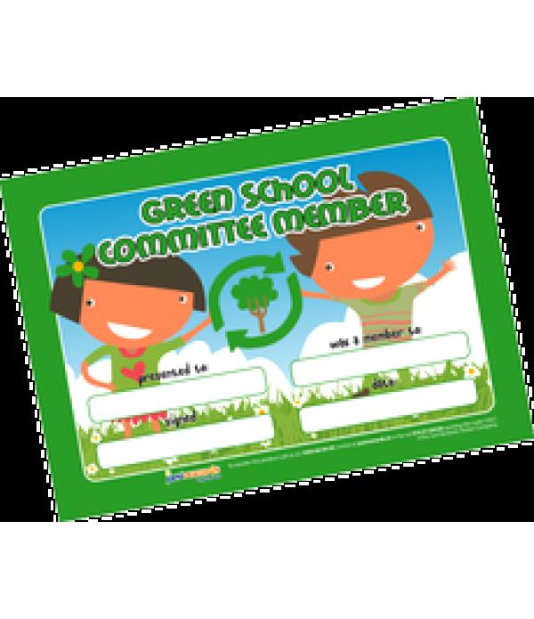 Award Certs Green Schools Committee