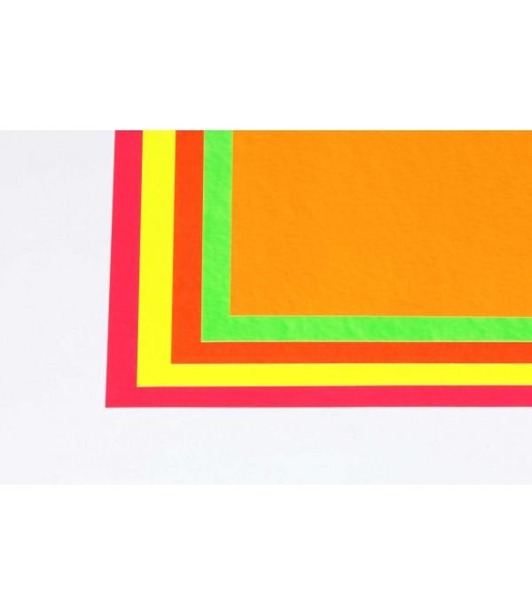 A2 Fluorescent Card 10s