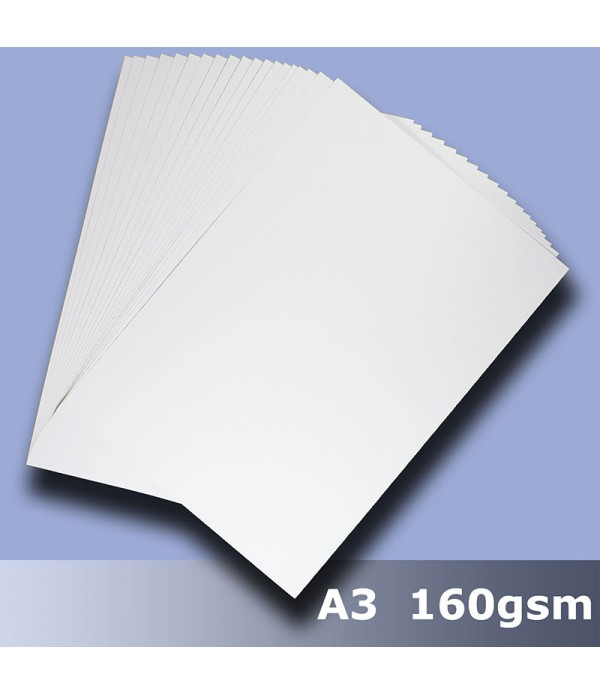 A3 White Card 25 Sheets