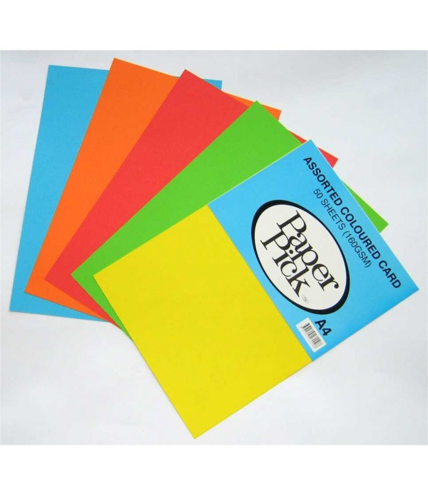 A4 Coloured Paper 100 Sheets