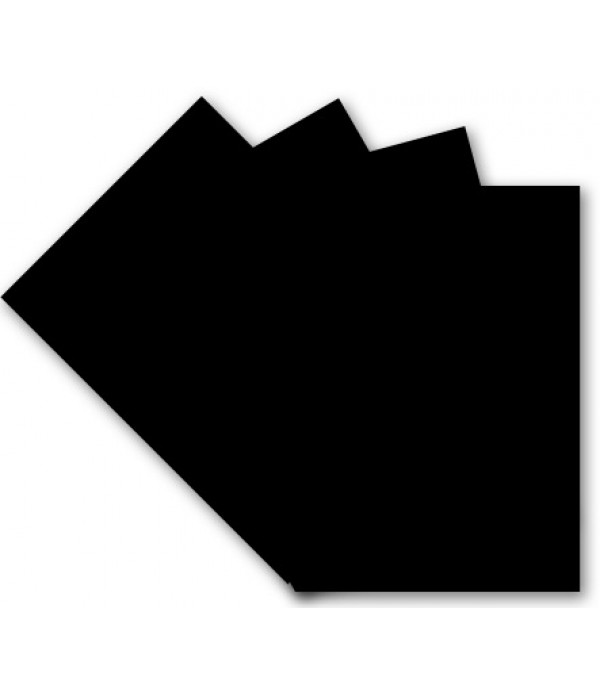 Black Card A4 50 Sheets