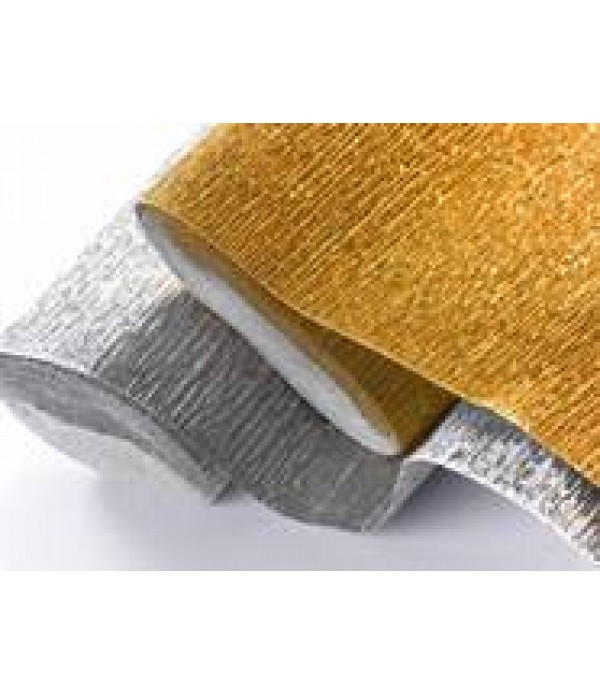 Crepe Paper Gold