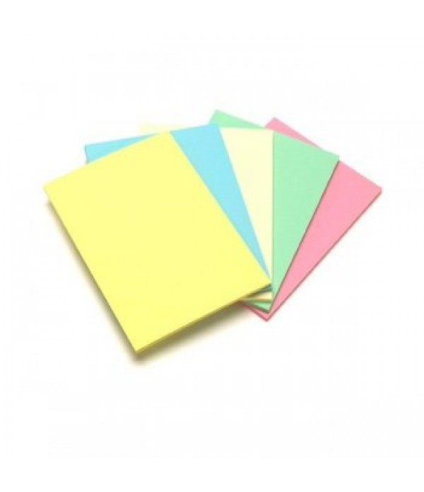 A4 Pastel Coloured Paper 100 Sheets