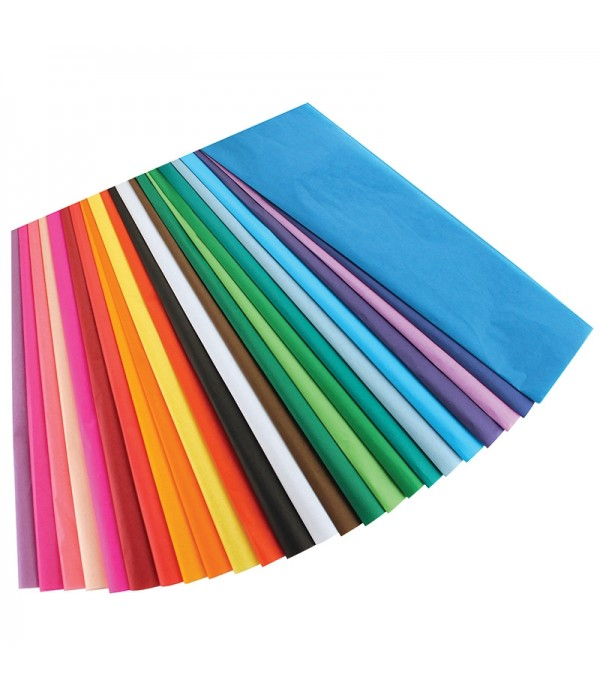 Tissue Paper Assorted Colours