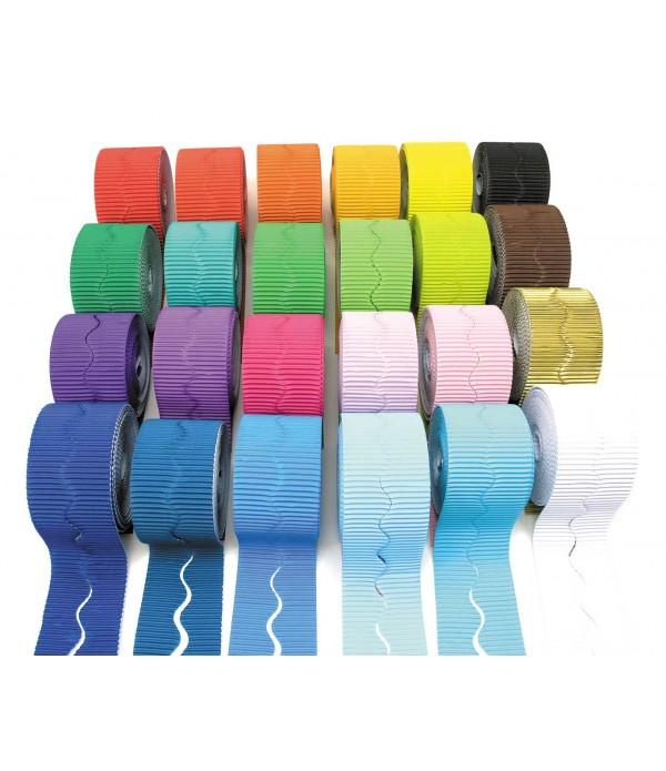 Corrugated Borders Colours
