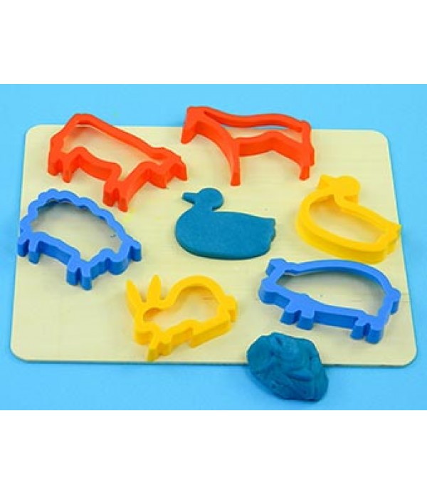 Pastry Cutters Animal Pack of 6