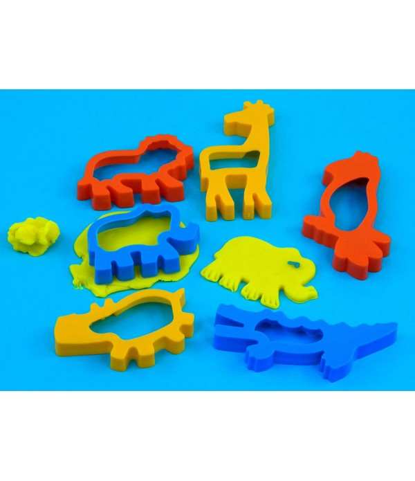 Pastry Cutters Jungle Pack of 6