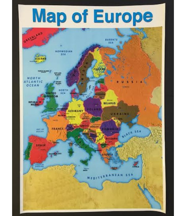 map of europe posters Poster Map Of Europe