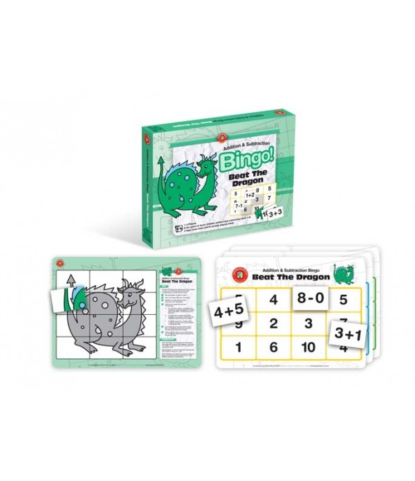 Beat The Dragon (Addition And Subtraction Bingo)