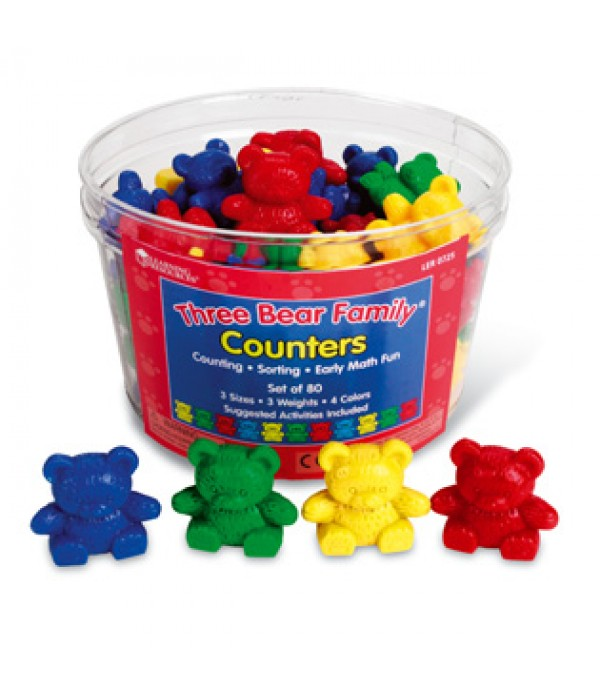 Three Bears Family Counters