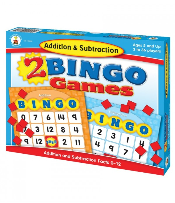 2 Bingo Games Addition & Subtraction