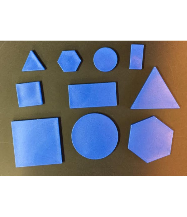 Plastic 2D Shapes