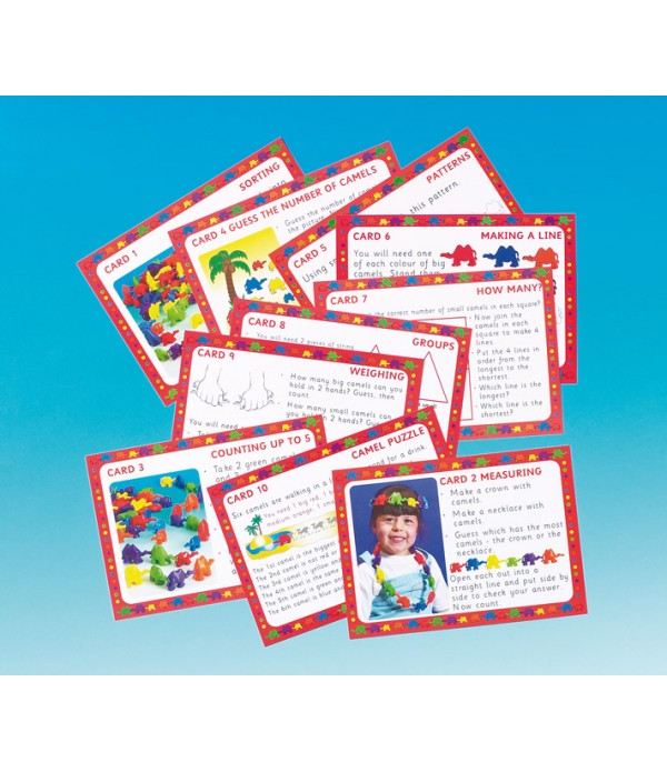 Connecting Camel Early Number Starter Cards
