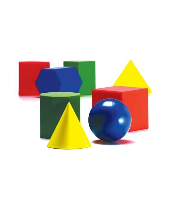 Geometric 3D Shapes Set Of 17