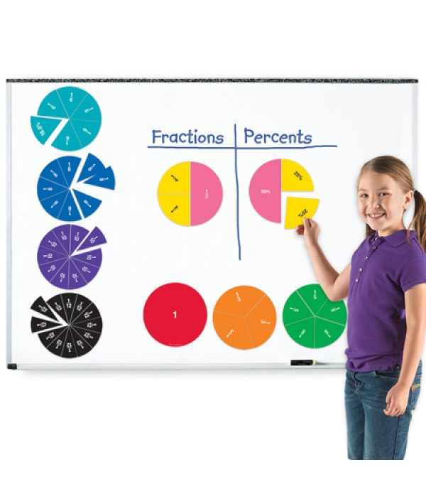 Giant Magnetic Fraction Circles