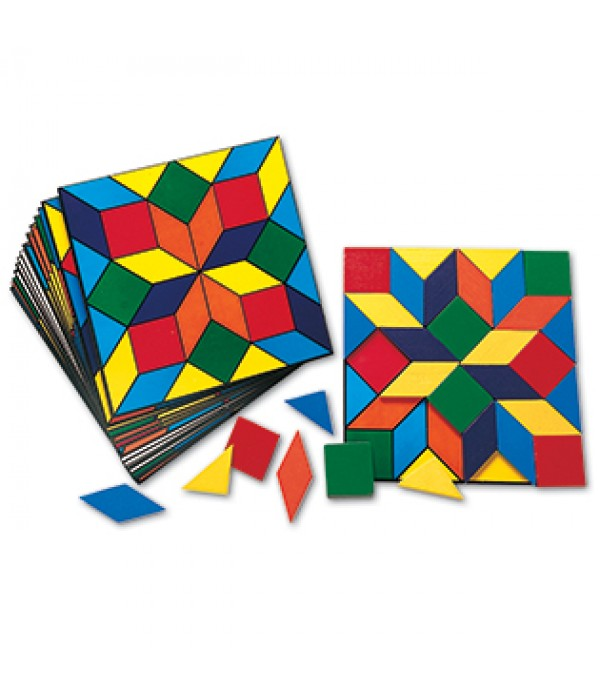 Parquetry Block & Card Set