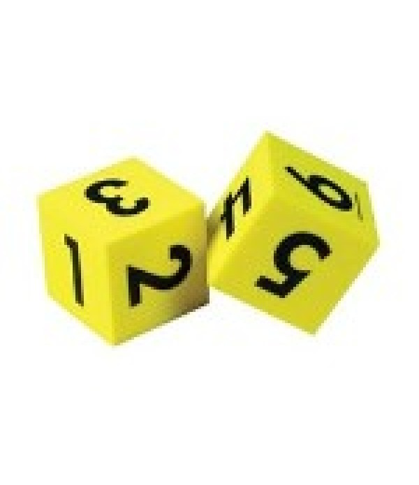 Dice Numbers Foam 5cm