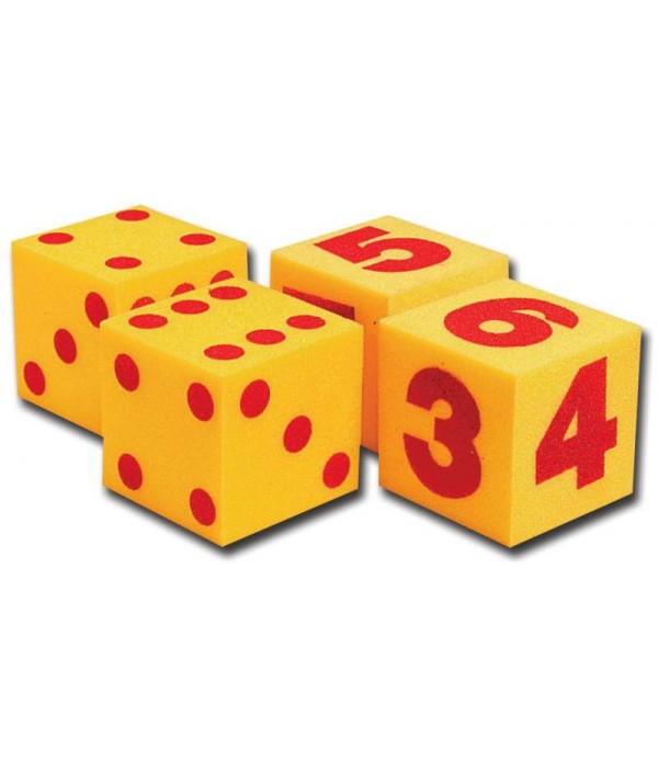 Giant Foam Dice Set Of 2 | Foam Dice