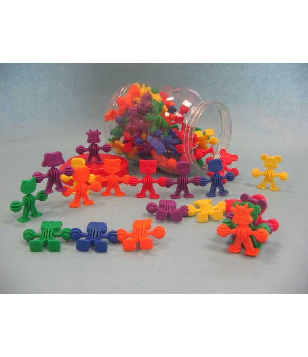Rubber Animal Blocks