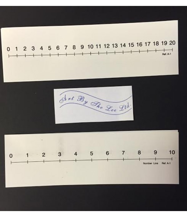 Table Top Number Lines Pack of 12