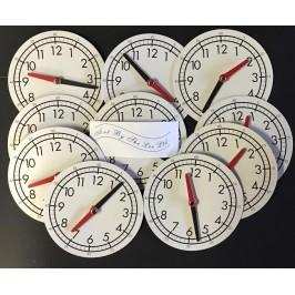 Clock Faces 12 Hour