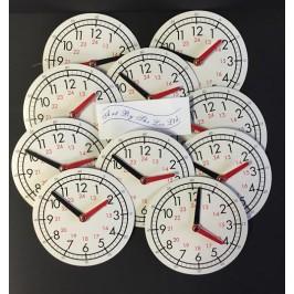 Clock Faces 24 Hour