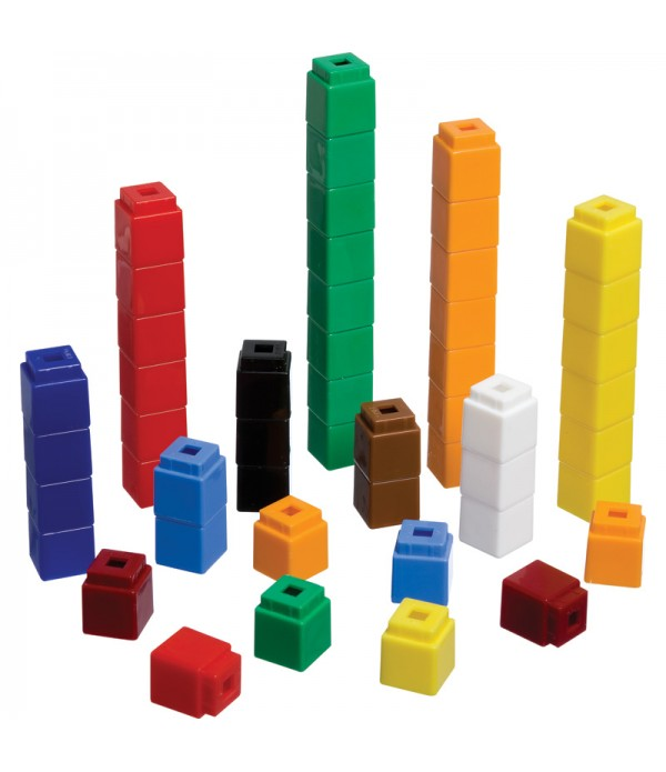 Counting Cubes 5 Pack of 100