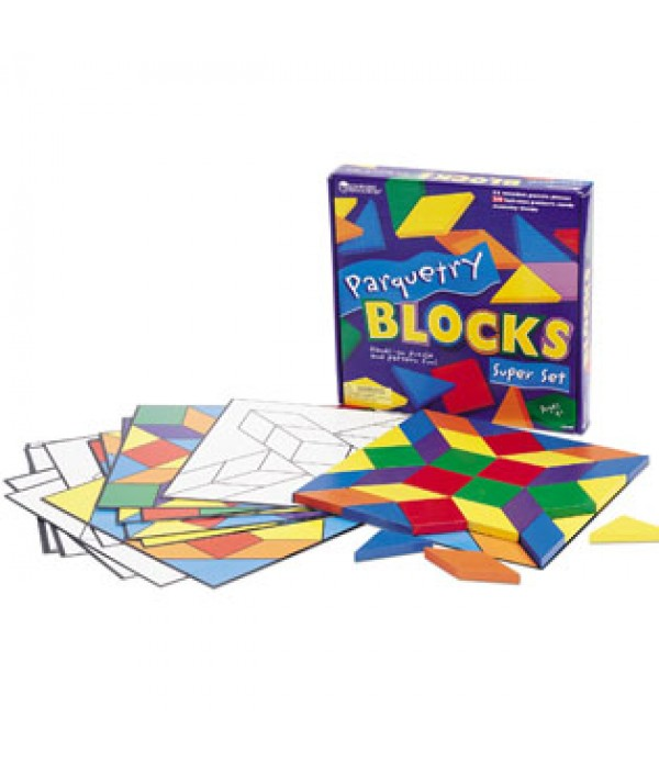 Parquetry Block & Card Set