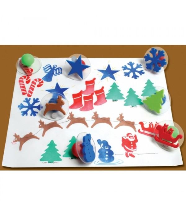 Giant Christmas Stampers