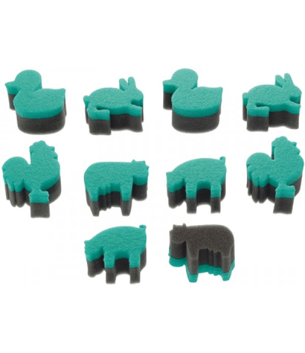 Sponge Stampers Animals